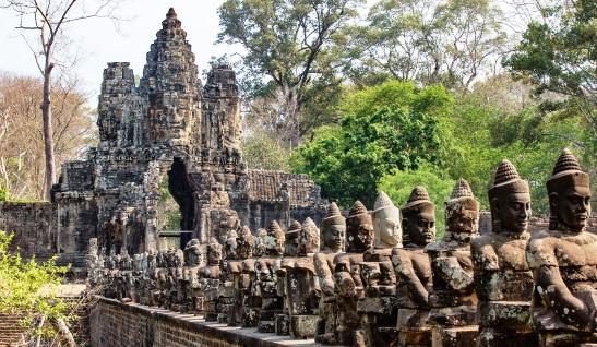 Angkor Thom Cambodia - Rejsecenter Djursland