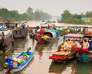 Mekong-deltaet med www.rejsecenterdjursland.dk