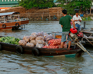 Mekong-deltaet med med www.rejsecenterdjursland.dk