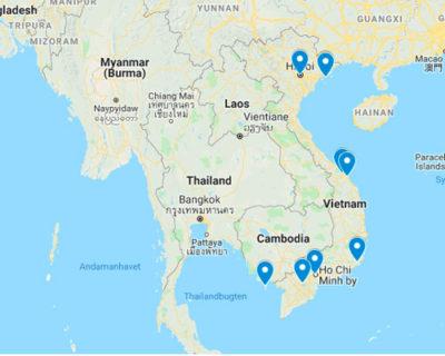 Rejs til Vietnam med rejsecenterdjursland.dk