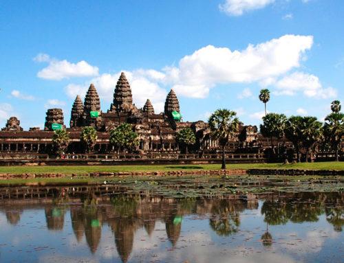 Cambodias højdepunkter & strandferie