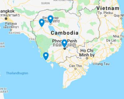 Rejs til Cambodia med rejsecenterdjursland.dk