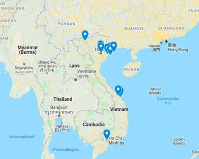 Individuelle rejser til Vietnam med rejsecenterdjursland.dk