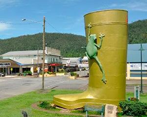 Giant Gum Boot - www.rejsecenterdjursland.dk