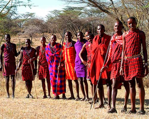 masaii i kenya - www.rejsecenterdjursland.dk