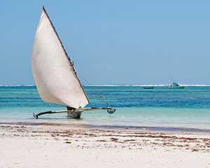Badeferie ved Diani Beach, Kenya - www.rejsecenterdjursland.dk