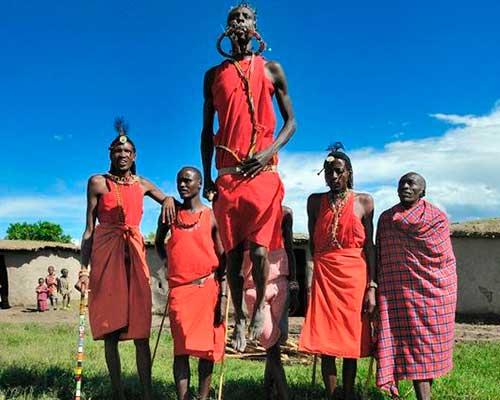 Masai Mara - safari i Kenya - www.rejsecenterdjursland.dk
