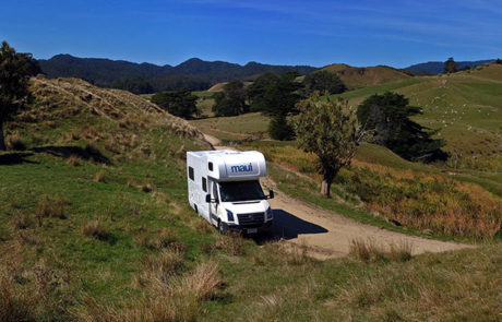 Autocamper og roadtrip i NZ