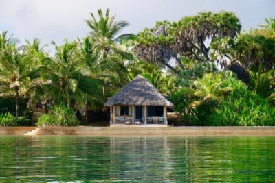 Badeferie ved Kenyas kyst