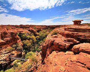 Kings Canyon Australien - www.rejsecenterdjursland.dk
