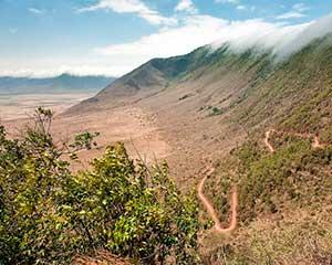 Bo på kanten af Ngorongoro - www.rejsecenterdjursland.dk