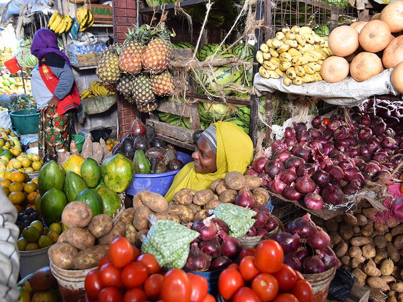 Central Market i Arusha - www.rejsecenterdjursland.dk