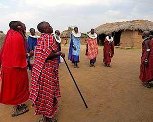 Mød vores naboer - Masaii Boma - www.rejsecenterdjursland.dk