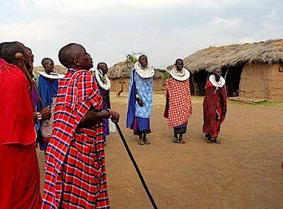 Maasai Boma - www.rejsecenterdjursland.dk