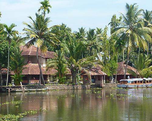 Backwaters, Kerala - www.rejsecenterdjursland.dk