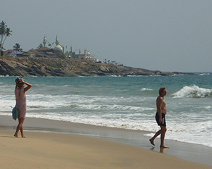Kovalam beach, Sydindien - www.rejsecenterdjursland.dk