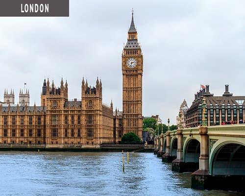 Storbyferie i London med www.rejsecenterdjursland.dk