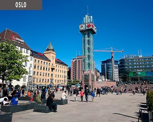 Storbyferie i Oslo med www.rejsecenterdjursland.dk