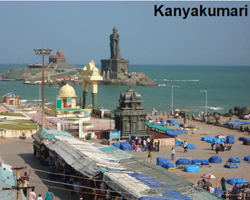 Kanyakumari, Sydindien - www.rejsecenterdjursland.dk