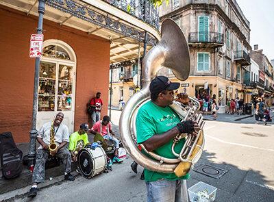 new orleans - kør selv i sydstaterne