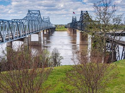 Vicksburg - kør selv i sydstaterne