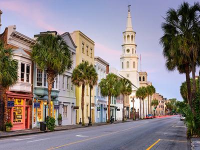 Charleston - kør selv i sydstaterne