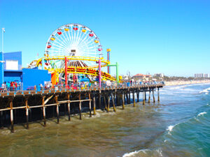 Santa Monica - Californien Rundt