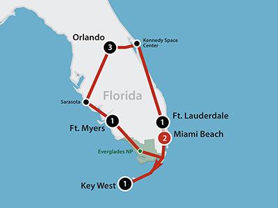 Florida Kør Selv