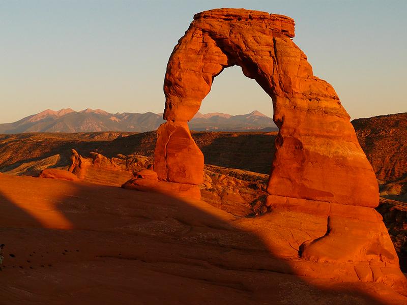 Delicate Arch - Kør Selv i Vest USA