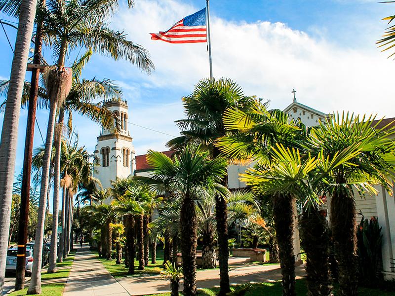 Santa Barbara - Californien Rundt